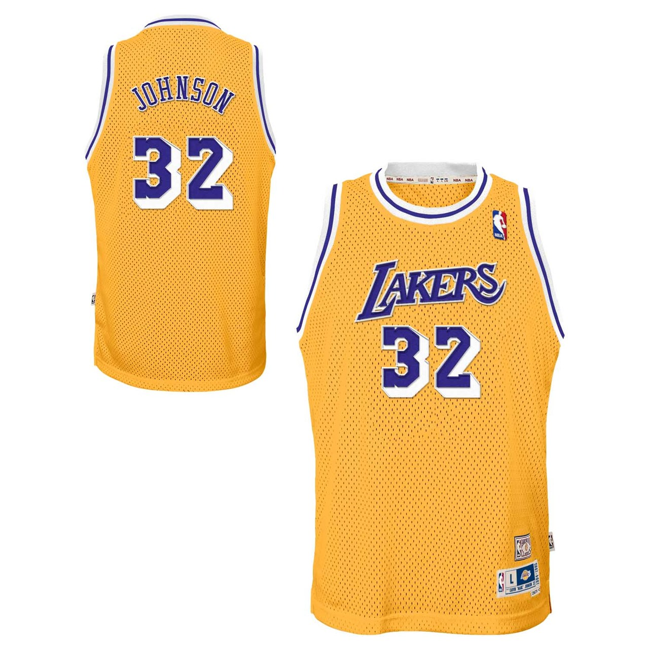 Los Angeles Lakers Youth Magic Johnson NBA Soul Swingman Jersey - Gold #32