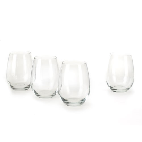 Anchor Hocking 15-oz. Stemless White Wine Glasses, Set of 4 by Anchor Hocking