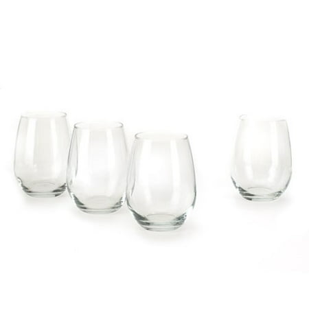 Anchor Hocking 15-oz. Stemless White Wine Glasses, Set of 4