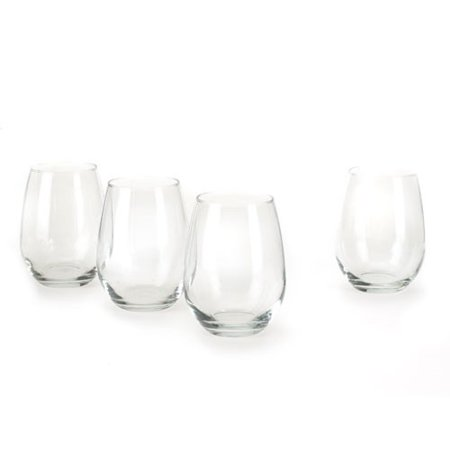 Anchor Hocking 15-oz. Stemless White Wine Glasses, Set of 4 ()