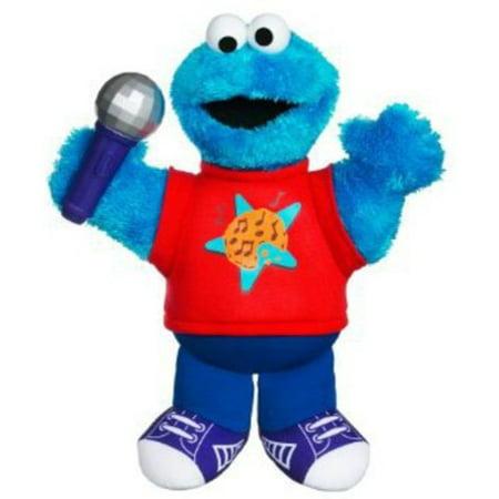 Playskool Sesame Street Let's Rock! Singin' Cookie Monster - Sesame Street Cookies