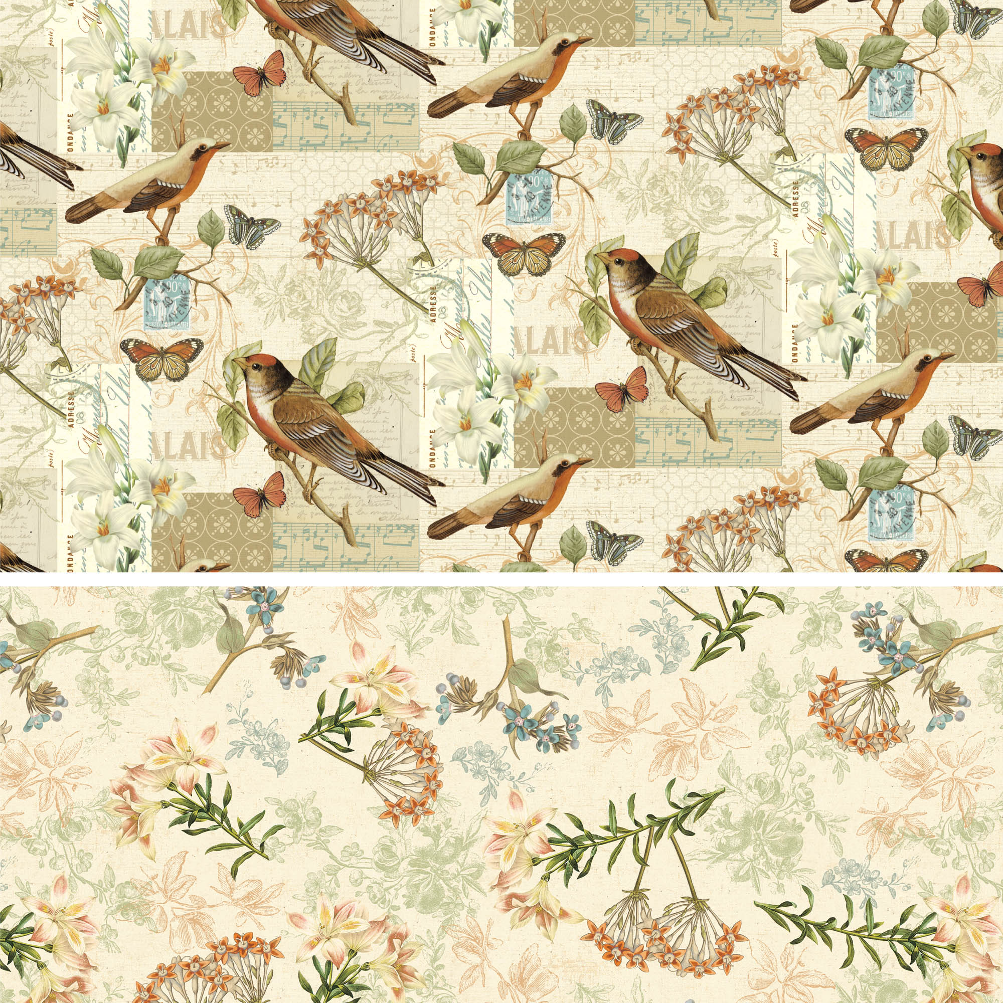 "David Textiles Cotton 36"" x 44"" Oak Avenue Collection Pre-Cut Fabric, 1 Each"