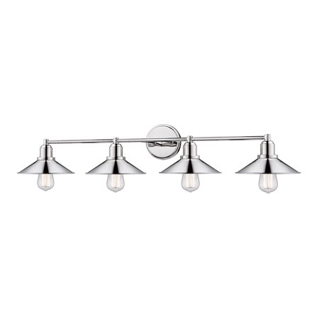 New zlite Product  Casa Collection 4 Light Vanity in Polished Nickel Finish Sold by