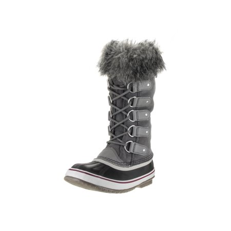 Sorel Women's Joan Of Arctic Mid-Calf Leather Snow Boot - 6M - Quarry /