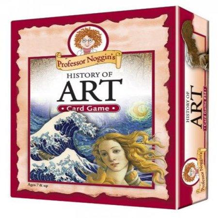 Professor Noggin's History of Art - A Educational Trivia Based Card Game For Kids (Professor Noggin)