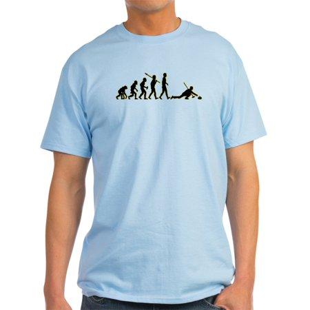 20a8d8b5dc CafePress - CafePress - Curling - Light T-Shirt - CP - Walmart.com