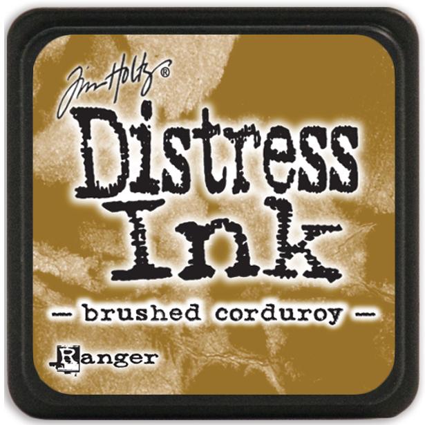 Distress Mini Ink Pad-Brushed Corduroy