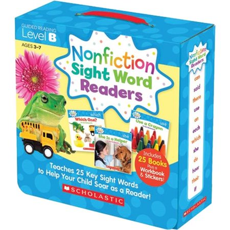 Scholastic Teaching Resources SC-584282 Nonfiction Sight Word Readers Level B - image 1 de 1