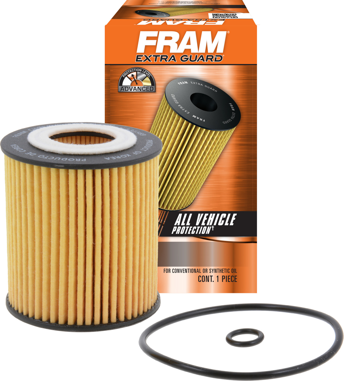 FRAM Extra Guard Oil Filter, CH9641
