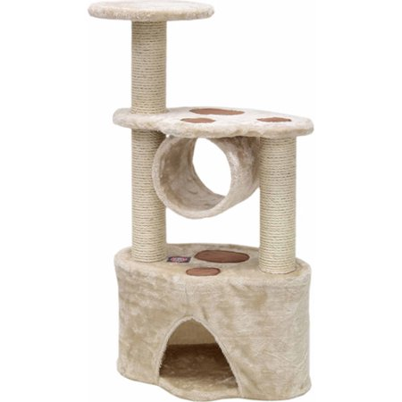 "Majestic Pet Products 37"" Casita Fur Cat Tree"