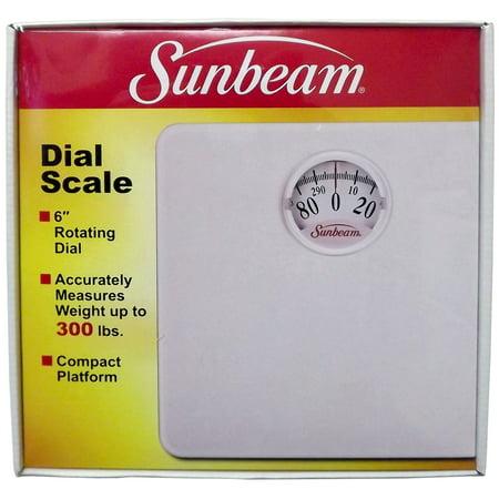 Sunbeam Sab998d 01 Rotary Dial Bath Scale