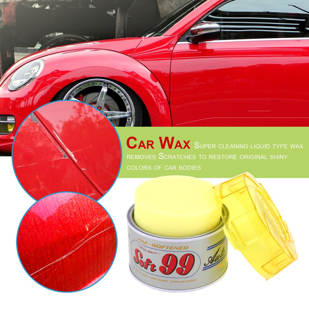 OUTAD 430g Soft Paste Car Wax Round Polishing Wax Car Care Wash Protect Paint Repair