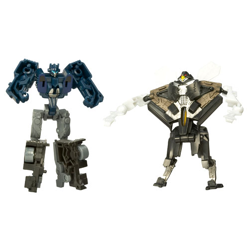 Transformers Movie AllSpark Battlers Figure 2-Pack, Nightwatch Optimus Prime Vs. Stealth Starscream