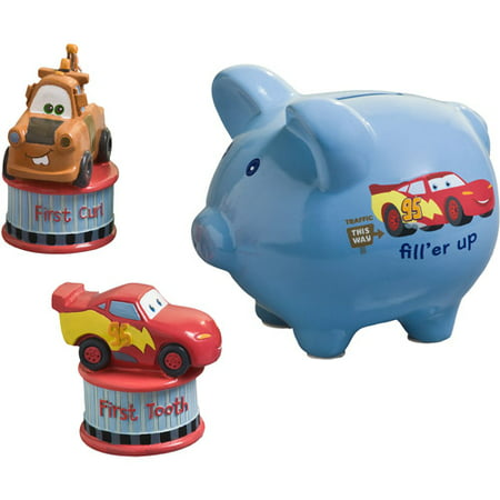 Disney Cars Junior Junction 3 Piece Bank