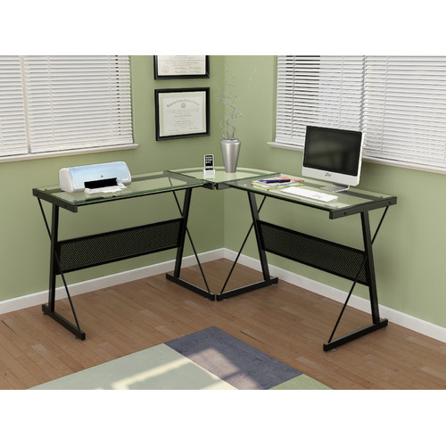 Z-Line Designs Skyla L-Shape Corner Desk