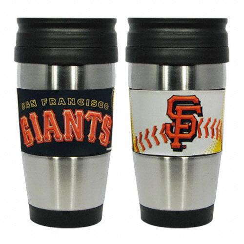 MLB - San Francisco Giants Travel Mug: 15 oz Stainless Steel Travel Tumbler