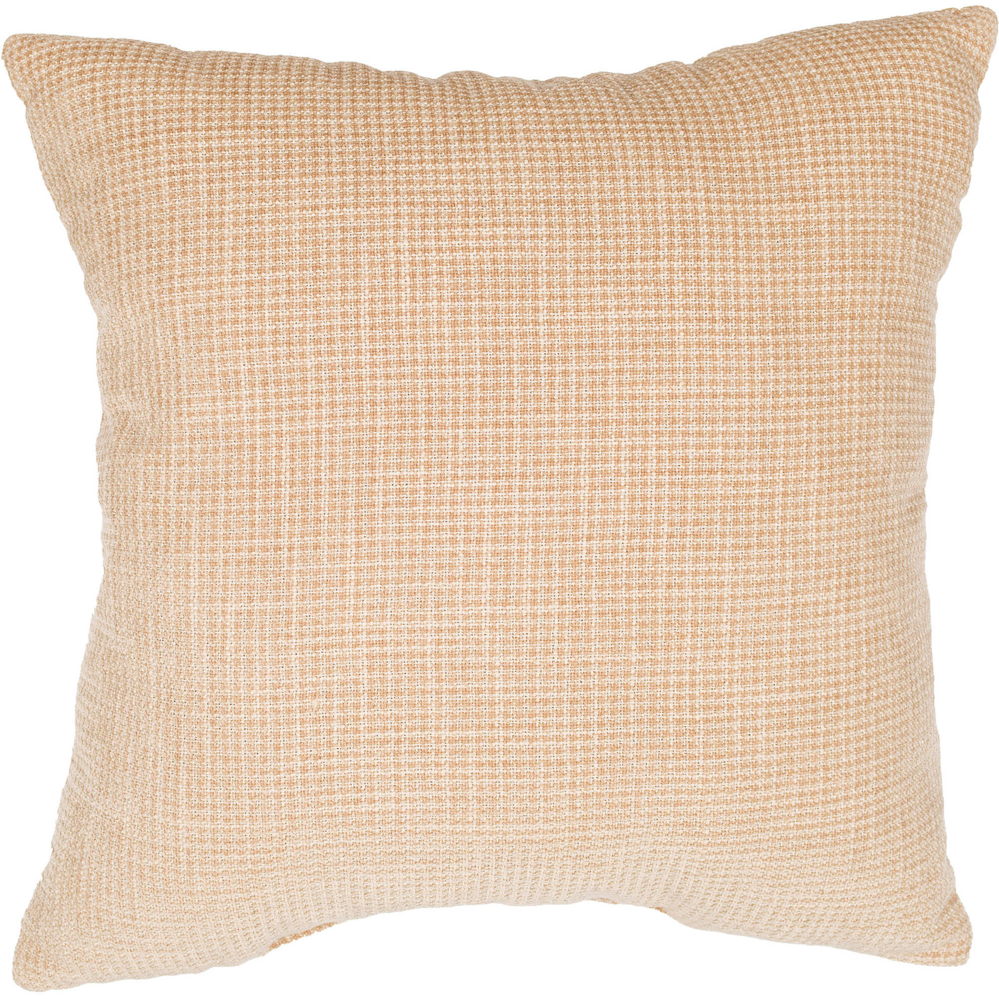 "Better Homes and Gardens 18"" x 18"" Tweed Pillow, Straw"
