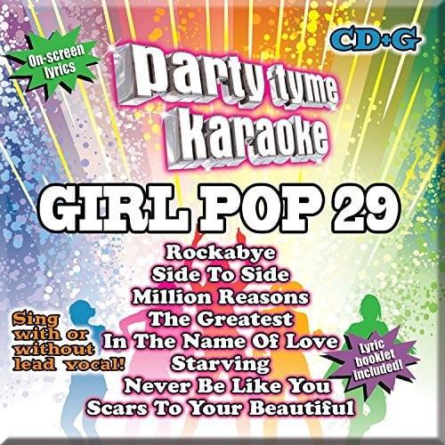 Party Tyme Karaoke: Girl Pop, Vol. 29 (CD)