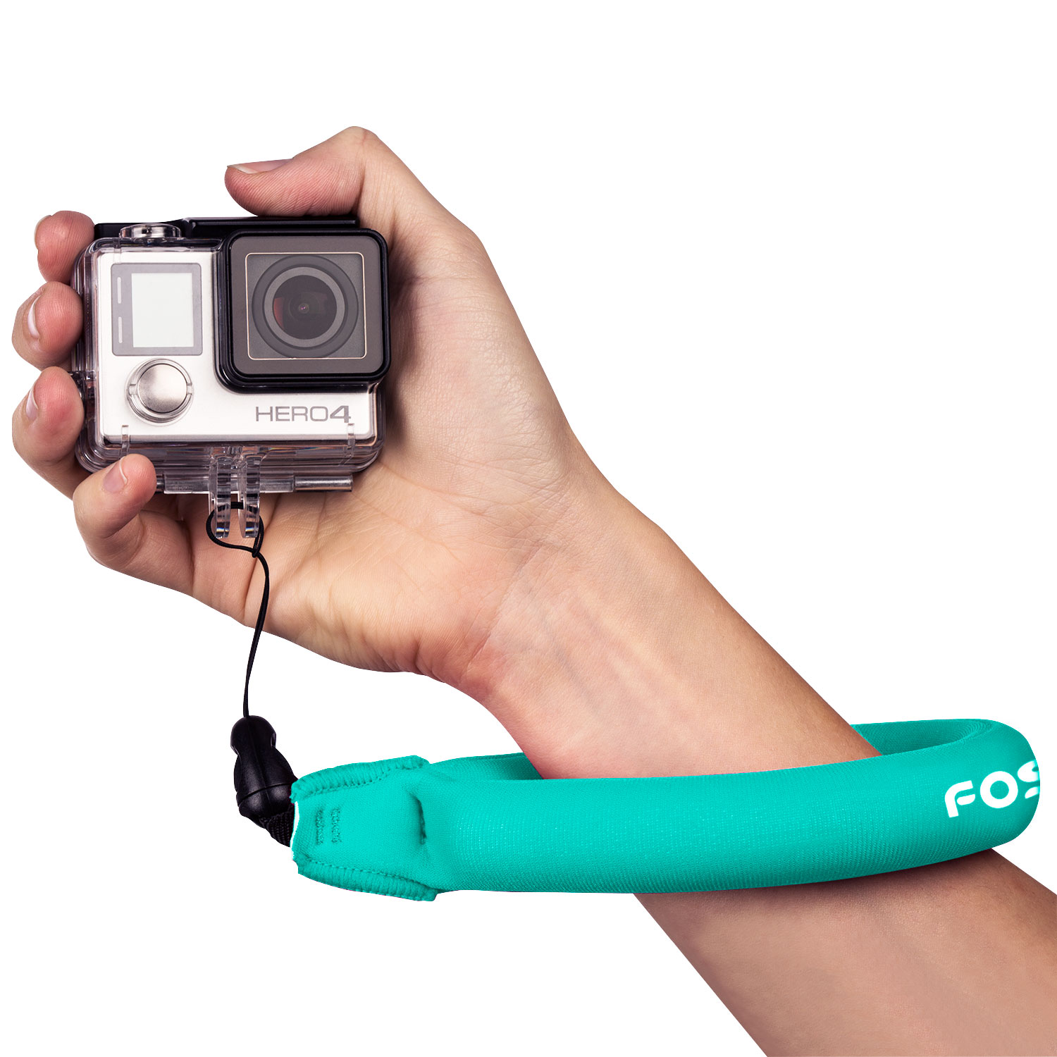 Fosmon Floating Camera Strap Universal Floating Wrist Strap for GoPro, Waterproof Camera, Phone, Keys and More (Blue)