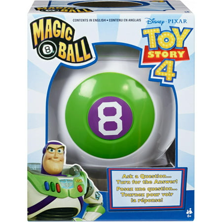 Magic 8 Ball Disney Pixar Toy Story Themed Novelty Fortune-Telling Toy