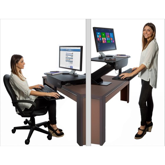 Prosumer S Choice Adjustable Height Sit To Standing Desk
