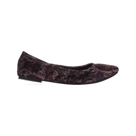 Lucky Brand Emmie Round Toe Ballet Flats, Black Multi Paisly - image 4 of 6