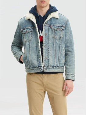 Levi's Men's Type 3 Sherpa Trucker Denim Jacket