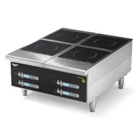 "Vollrath 924HIDC 24"" Countertop Heavy-Duty Induction Hotplate - 4 Hob"