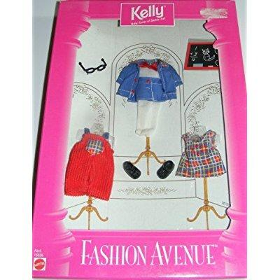 kelly fashion avenue school days outfits - barbie