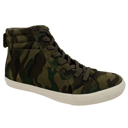 Polo Ralph Lauren Men's Gaven Camo Print Suede High-Top