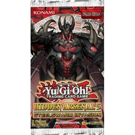 Yu-Gi-Oh Hidden Arsenal 5: Steelswarm Invasion Booster Pack (Arsenal Training Packs)