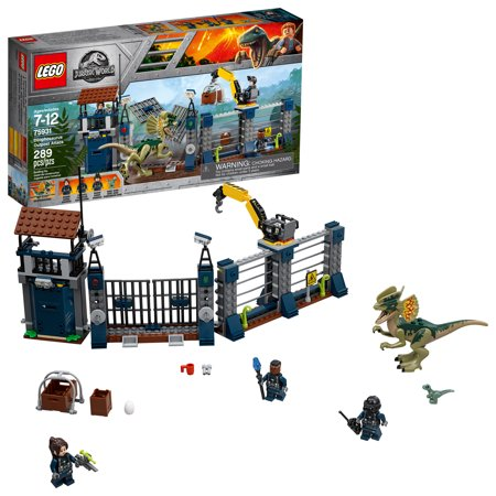 LEGO Jurassic World Dilophosaurus Outpost Attack 75931 - Jurassic Park Decorations