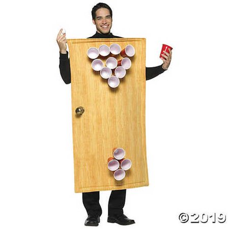 Beer Pong Cup Costume (Adult's Beer Pong Costume)