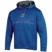 Men's Russell Athletic Royal Kansas Jayhawks Synthetic Pullover Hoodie
