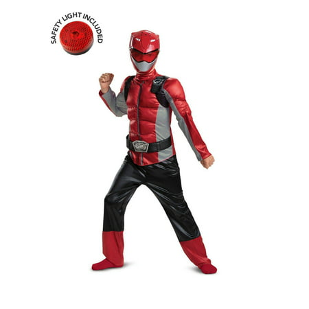 Halloween Red Ranger Beast Morpher Classic Muscle Child Costume