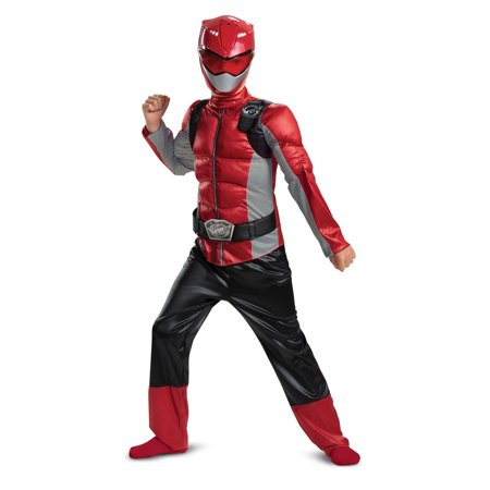 Halloween Red Ranger Beast Morpher Classic Muscle Child