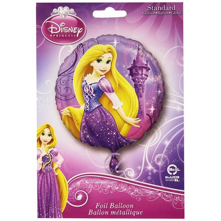 Anagram International HX Rapunzel Party Balloons, Multicolor - Rapunzel Birthday Party