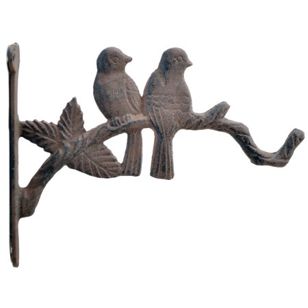 Iron Plant Hanger (Love Birds Cast Iron Decorative Plant Hanger - 10