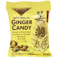 Prince of Peace 100% Natural Ginger Candy Chews - 4.4 oz