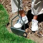 Yard Butler EDGE-180 37 Inch Steel Sawtooth Grass Lawn Manual Step Edger Tool