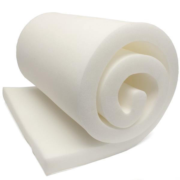"Foamma 1-12/""x24/""x24/"" High Density Upholstery Foam Cushion Seat Replacement"