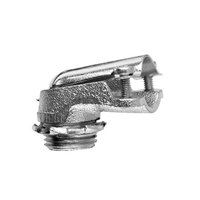 Crouse-Hinds 738 Malleable Iron Non-Insulated 90 Degree Connector 3/4 Inch