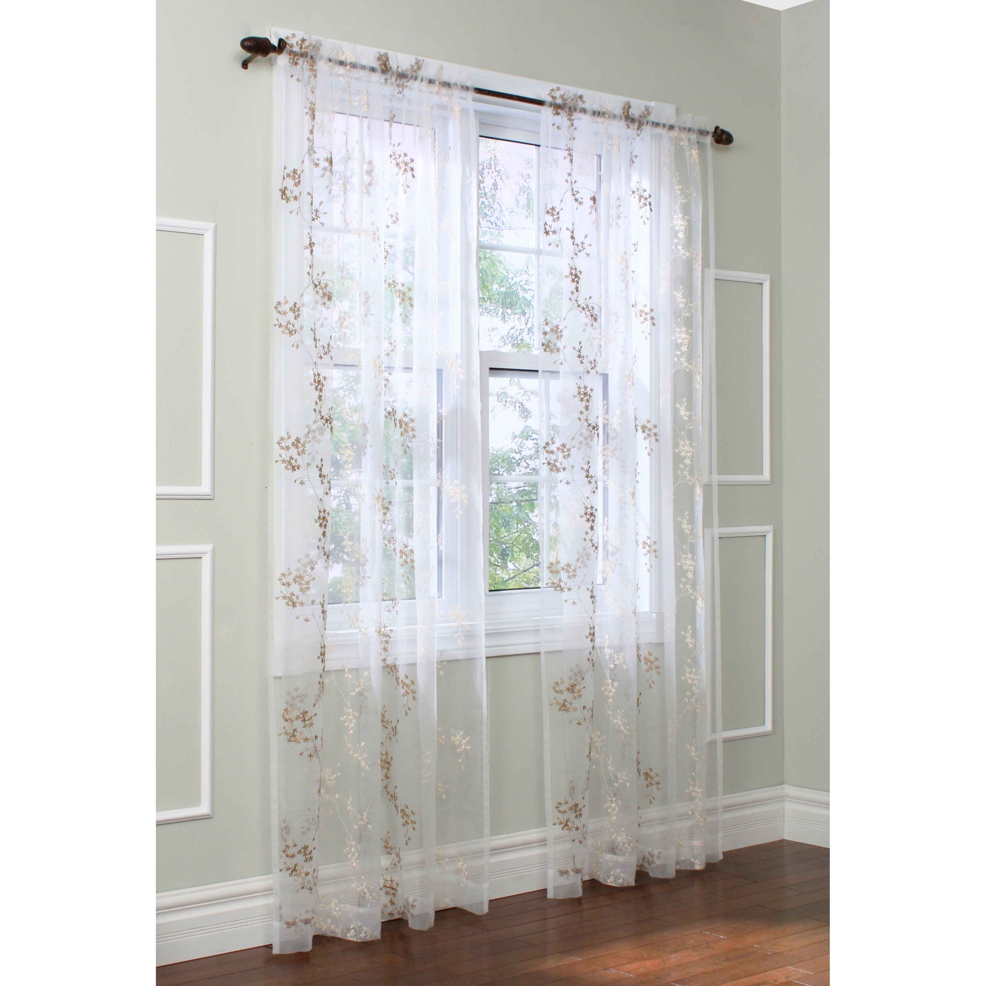 Commonwealth Habitat Josephina Sheer Curtain Panel