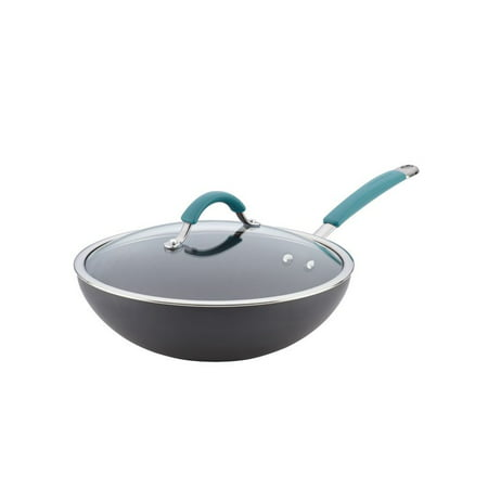 Rachael Ray Cucina Hard-Anodized Nonstick Covered 11