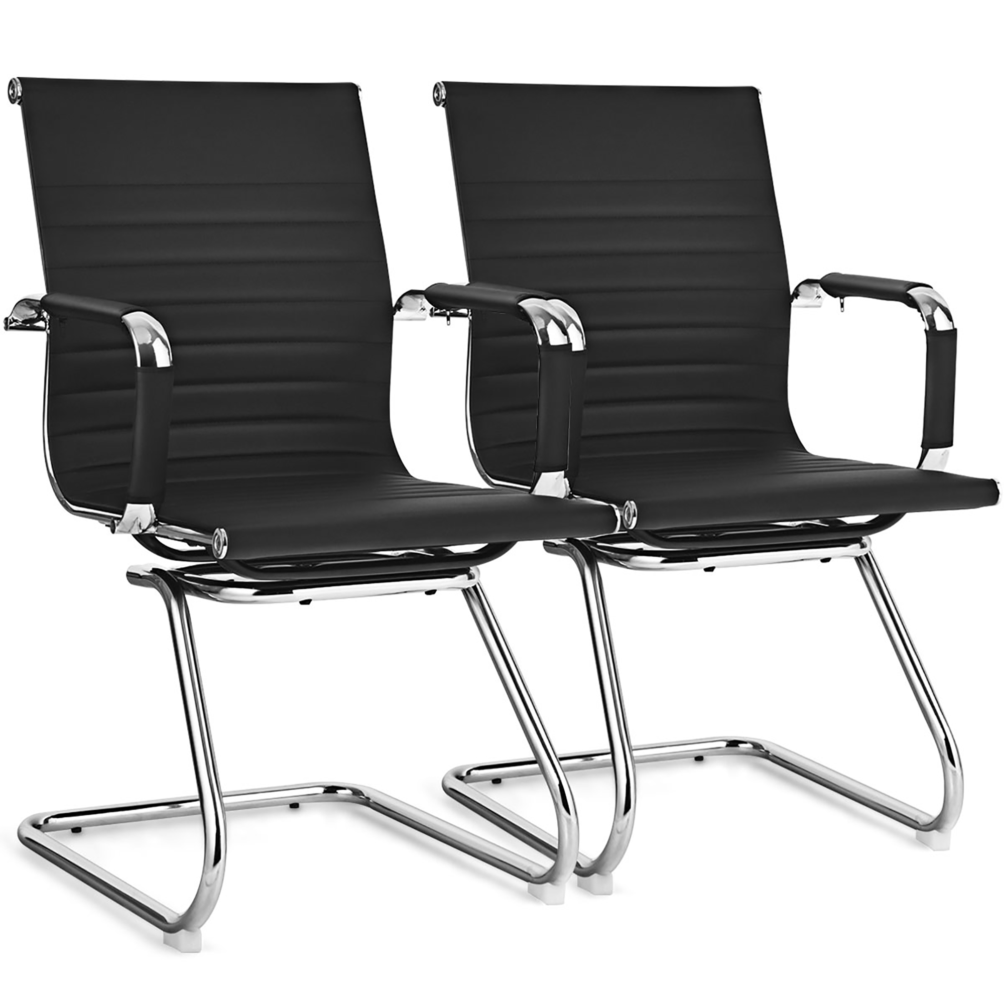 Picture of: Costway Set Of 2 Office Waiting Room Chairs For Reception Conference Area Walmart Canada