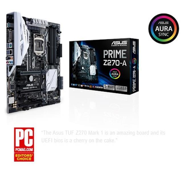 Asus PRIME Z270-A 3.1 USB LGA1151 Z270 DDR4 SATA PCI Expr...