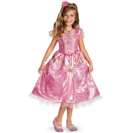 Disney Princess Aurora Sparkle Deluxe Child Costume