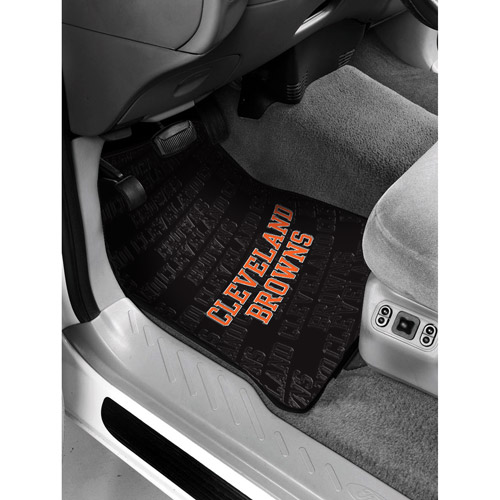 NFL - Cleveland Browns Floor Mats - Set of 2