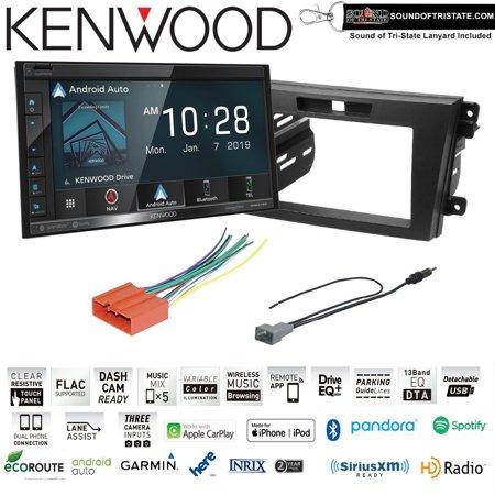 Kenwood DNR476S Navigation Receiver install kit fits 2010-2012 Mazda