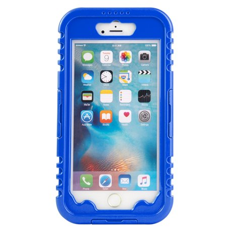 promo code c12c7 cfea1 Premium Waterproof Sealed Case for Apple iPhone 8 Plus / 7 Plus with  Plastic Screen Cover